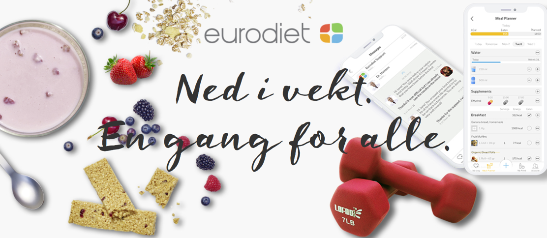 Ned i vekt med Eurodiet-metoden