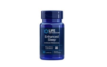 Enhanced Sleep without Melatonin